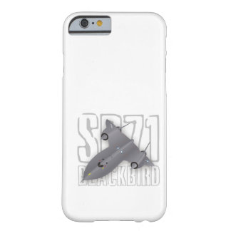 The fastest supersonic spy plane: SR-71 Blackbird Barely There iPhone 6 Case