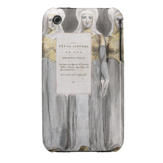 The Fatal Sisters, design 67 from 'The Poems of Th iPhone 3 Case