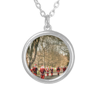 The Father Christmas 10km run in Greenwich, London Pendants