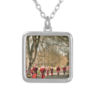 The Father Christmas 10km run in Greenwich, London Necklaces