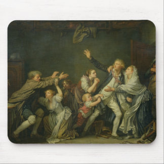 The Father's Curse or The Ungrateful Son, 1777 Mousepad