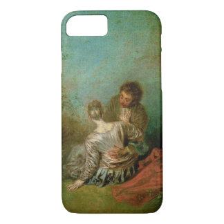 The Faux Pas, c.1717 (oil on canvas) iPhone 7 Case