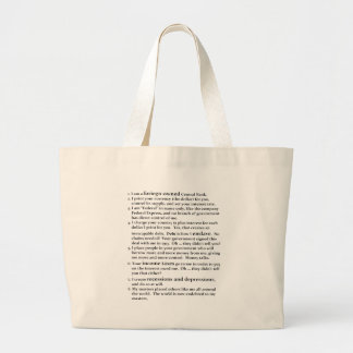 The Fed Canvas Bags