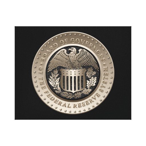 The Federal Reserve Stretched Canvas Prints