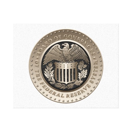 The Federal Reserve Stretched Canvas Print