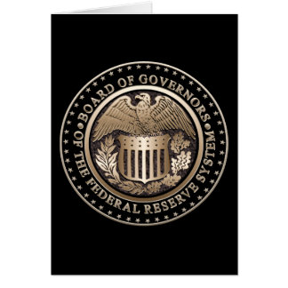 The Federal Reserve Greeting Cards