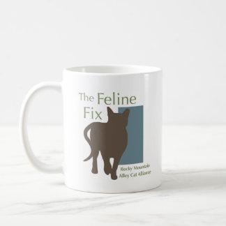 The Feline Fix Logo Mug