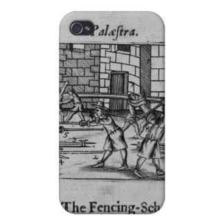 The Fencing School iPhone 4 Case