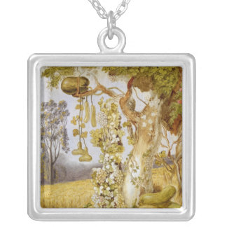 The Fertility of the Earth Silver Plated Necklace