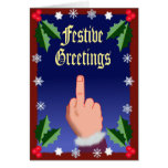 The Festive Finger Greeting Cards