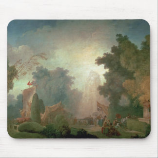 The Fete at Saint-Cloud (oil on canvas) (for detai Mouse Pad