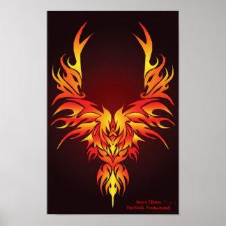 The Fiery Phoenix Poster