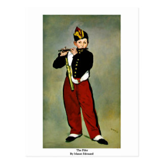 The Fifer By Manet Edouard Postcard