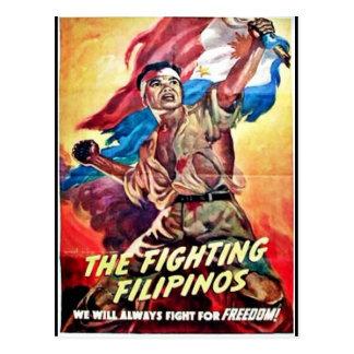 The Fighting Filipinos Postcard