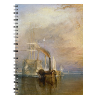 The Fighting Temeraire, 1839 Spiral Note Book