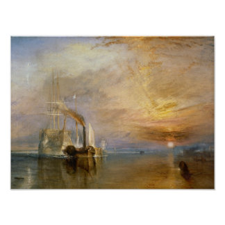 "The ""Fighting Temeraire"" Tugged Poster"