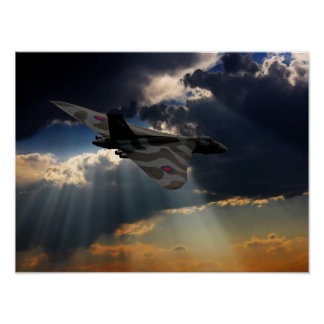 The Final Flight XH558 Poster