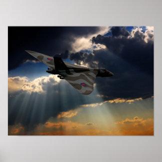 The Final Flight XH558 Poster