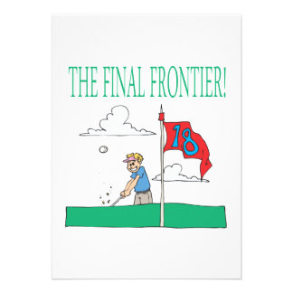 The Final Frontier Personalized Invite