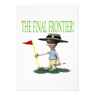 The Final Frontier Invitations