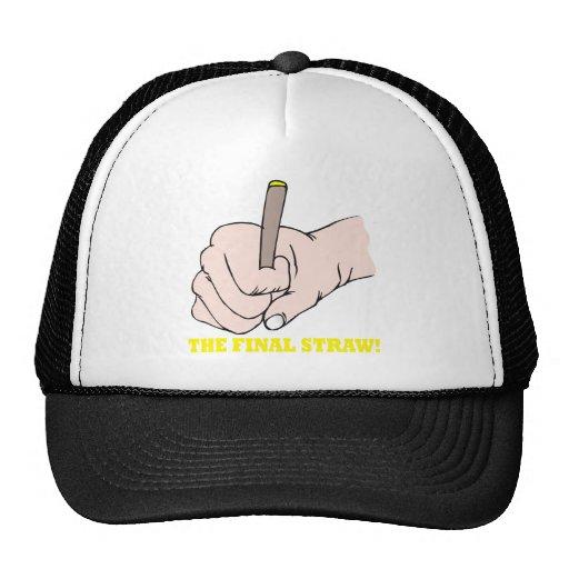 The Final Straw Trucker Hat