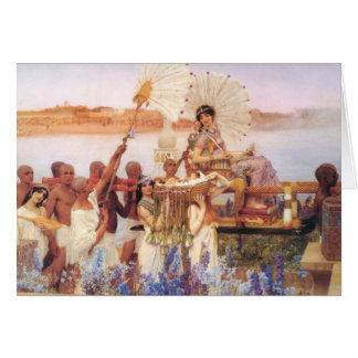 The Finding of Moses, Sir Lawrence Alma-Tadema Card