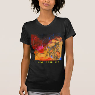 The Fire at Sunset Women's Tee