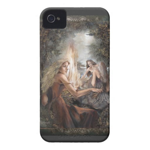 «The Fire» Blackberry Cases