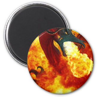 The Fire Dragon Magnet