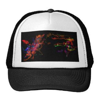 The Fire Horse Vs The Rainbow Dragon Mesh Hats