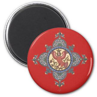 The Firebird as Tsarevna Russian Folktale Magnet