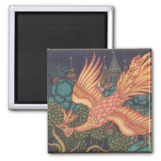 The Firebird Russian Folktale Magnet