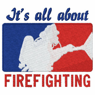 The Firefighter Custom Embroidery