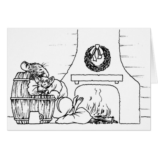 The Fireplace Card