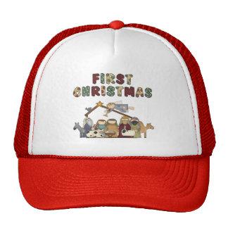 The First Christmas Nativity Scene Trucker Hat