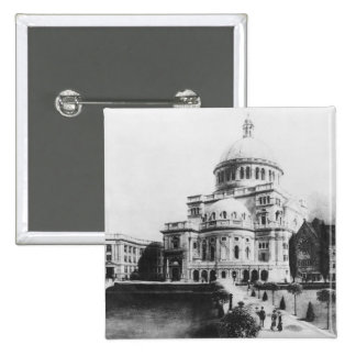 The First Church of Christ, Scientist in Boston 15 Cm Square Badge