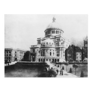 The First Church of Christ, Scientist in Boston Postcard