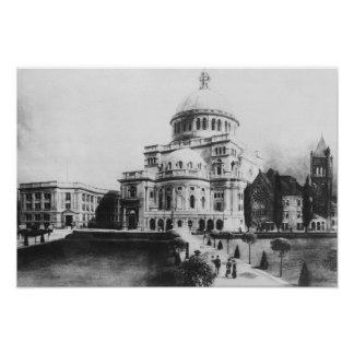 The First Church of Christ, Scientist in Boston Poster