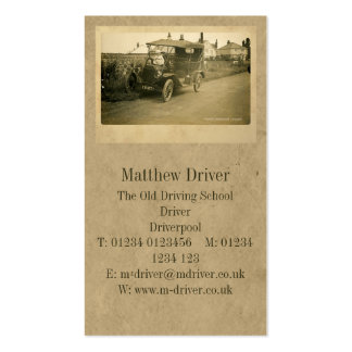 The First Driving Lesson Standard Business Cards
