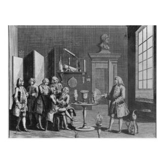 The First Lecture in Experimental Philosophy Postcard