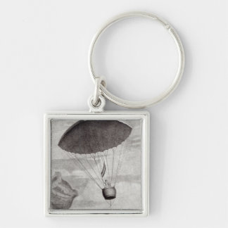 The First Parachute Descent Key Ring