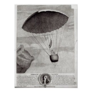 The First Parachute Descent Poster