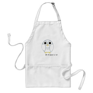 the first snow owl in the kitchen standard apron