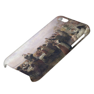 The First Thanksgiving at Plymouth by Brownscombe iPhone 5C Covers