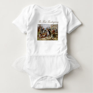 The First Thanksgiving Baby Bodysuit