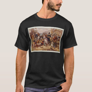 The First Thanksgiving by Jean Leon Gerome Ferris T-Shirt