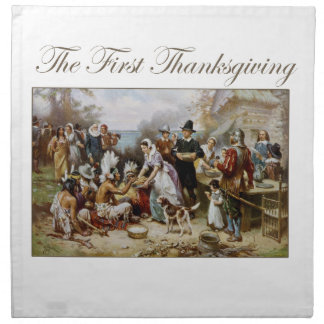 The First Thanksgiving Napkin
