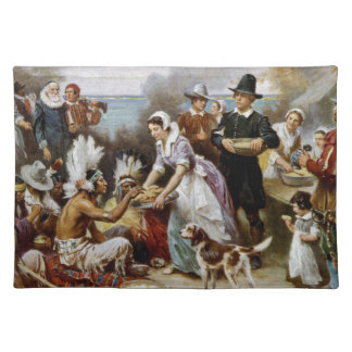 The First Thanksgiving Placemat