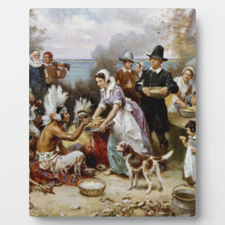 The First Thanksgiving Plaque