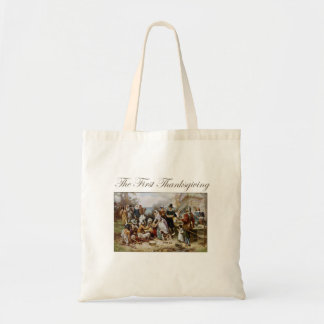 The First Thanksgiving Tote Bag